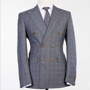 Other - Men Double Breasted Suit + Pants